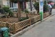 磁縣竹籬笆別墅圍欄昭通巧家伸縮碳化木護欄竹子護欄別墅圍欄
