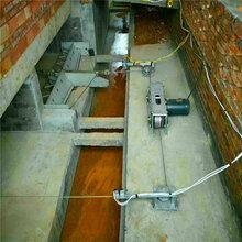 郑州养殖用全自动刮粪机清粪机粪尿分离v板刮粪机等清洁环保设备福宇公司