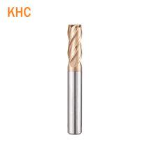 德國KHC模具專用銑刀系列4刃鎢鋼銑刀HRC60CNC銑刀圖片