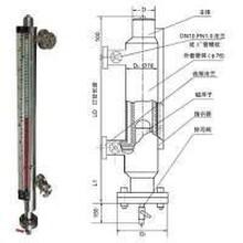 UDZ-1W夹套保温型磁翻板液位计
