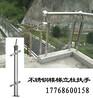 厂家批发304不锈钢栏杆立柱不锈钢商场玻璃扶手栏杆定制立柱