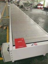 寧津德隆定做鏈板輸送線空調冰箱空氣能板鏈輸送帶