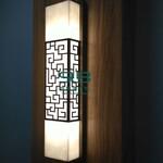 壁灯云石透光过道品质优,户外工程壁灯防尘抗紫外线图片