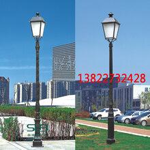 学校景观灯公园酒店售楼部高杆灯景观亮化工程用庭院灯三米四3.5m定制单头复古路灯