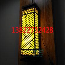 大理石户外壁灯古镇广东立柱挂灯大厦地产外墙门灯云石不锈钢壁灯图片