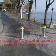 武汉升降路桩厂家路桩生产制造销售商全自动升降路桩遥控升降路桩图片