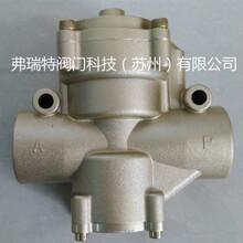 苏州阀门厂家弗瑞特二位二通管接截止式气动换向阀K22JK-L40W