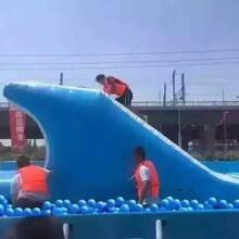 上海大克最新开发水上闯关游戏夏日戏水休闲游乐设备
