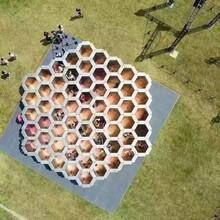 大型互动迷宫主题游戏蜂巢迷宫