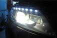 东营汽车大灯升级改装近远光双光透镜氙气灯