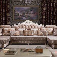 顺德家具厂供应欧式沙发高档别墅休闲沙发图片
