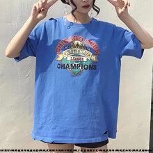 韩版女装在哪里进货好贵州六盘水厂家尾货短袖好卖女装短袖批发服装生产厂家直销T恤