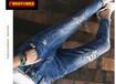 河北保定便宜八分牛仔裤夏季外贸库存服装特价清仓热销女式牛仔裤批发夜市爆款牛仔裤