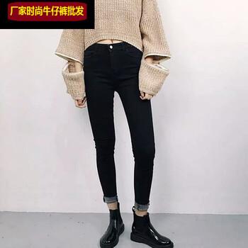 修身小脚铅笔裤