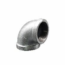 瑪鋼管件熱鍍鋅彎頭瑪鋼絲扣90度彎頭消防水暖配件圖片