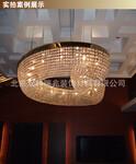 中元之光定制工程水晶灯包房客厅豪华吸顶灯酒店厅定制灯饰图片