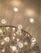 定制酒店會所大廳非標工程燈水晶燈