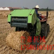 厂家直销全自动豆科牧草打捆机价格优惠小型农业机械图片