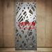 定制2.0mm镂空雕花板异形雕花板造型铝单板弧形铝方通型材四方通U铝方通