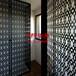 定制镂空雕花板造型铝单板雕花板弧形铝方通型材四方通