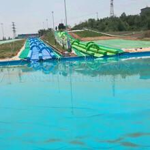 儿童水池充气滑梯移动水池儿童沙滩池厂家直销