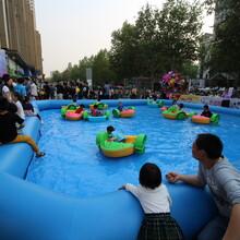 充气游泳池儿童戏水乐园支架水池厂家安信游乐设备有限公司