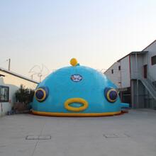 充气投影淘气堡产品动漫充气淘气堡海底小纵队科技产品充气堡科技产品安信游乐设备