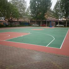 潍坊硅PU篮球场室外球场