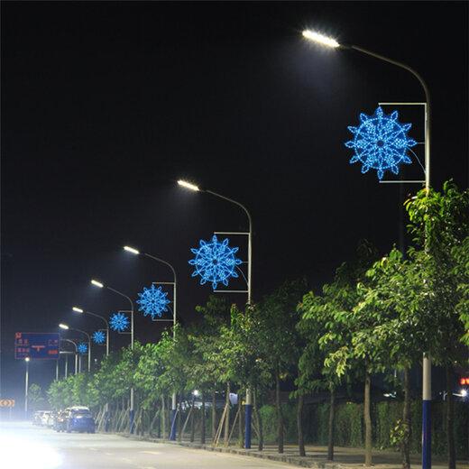 众熠路边灯杆ub8优游娱乐手机饰,廊坊1.2米30W路灯灯笼ub8优游娱乐手机饰路灯之间拉灯