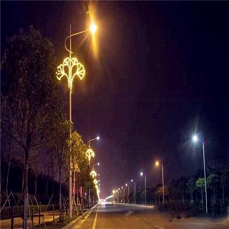临汾古典中国结众熠路灯灯笼装饰春节亮化灯笼,LED压克力中国结