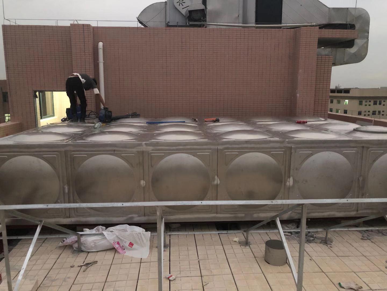 中山市东飞不锈钢水箱厂家全国上门安装方形水箱消防水箱养殖水箱