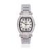 热销女款镶钻手表时尚超级酒桶型手表30m防水石英手表