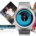 热销新款无指针概念手表时尚石英男士礼品手表时尚漩涡表情侣表