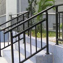 河南信阳生产供应小区别墅家用新钢楼梯扶手、不锈钢护栏图片