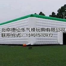 充气棚子充气膜结构大棚充气屋图片