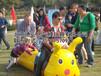 热销娱乐游戏器材趣味运动会毛毛虫竞速训练道具租赁