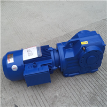 SCAF67紫光斜齿轮-蜗轮减速机图片