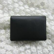 廠家加工生產直銷批發工廠外貿原單真皮名片包牛皮超薄男女通用卡包證件夾零錢包圖片