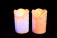 电子蜡烛浪漫LED蜡烛灯玫瑰心形套餐生日创意婚庆求婚表白道具