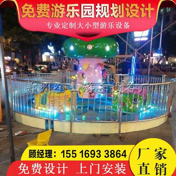 瓢虫乐园游乐设施新款游乐设备价格广场游乐设备图片