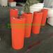 塑胶清淤管道浮筒水面警示拦污浮体夹管塑料浮体