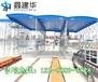 南通港闸区专业生产仓库推拉蓬伸缩遮阳棚钢结构固定帐篷帆布蓬