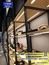 货架安装服装店铺服装店装修材料