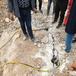 爆破代替爆破破碎石頭機械湖北荊州