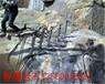海南保亭山石的巖石爆破設備液壓劈裂器大力神靜爆棒廣礦機械制造