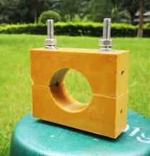 煤矿竖井电缆专用夹具-高强度电缆卡子-阻燃电缆夹板