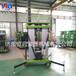 山东厂家促销升高8米载重200公斤移动式铝合金升降机双柱升降平台
