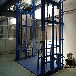 恒啟液壓升降機廠家直銷移動式升降貨梯全自行式升降機鏈條導軌式升降平臺