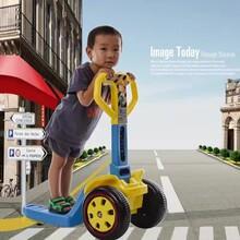 新款多功能儿童电动车滑行车仿真工程叉车儿童玩具车电动一件代发图片