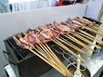 鄭州團建戶外燒烤食材配送中心鄭州燒烤李燒烤食材新鮮加工圖片